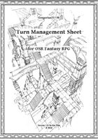 Gregorius21778: Turn Management Sheet (OSR Fantasy)