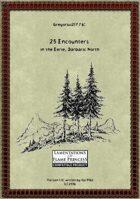 Gregorius21778: 25 Encounters in the Eerie, Barbaric North