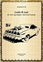 Gregorius21778: Looks & Loot for Post-Apocalyptic Motorized Nomads