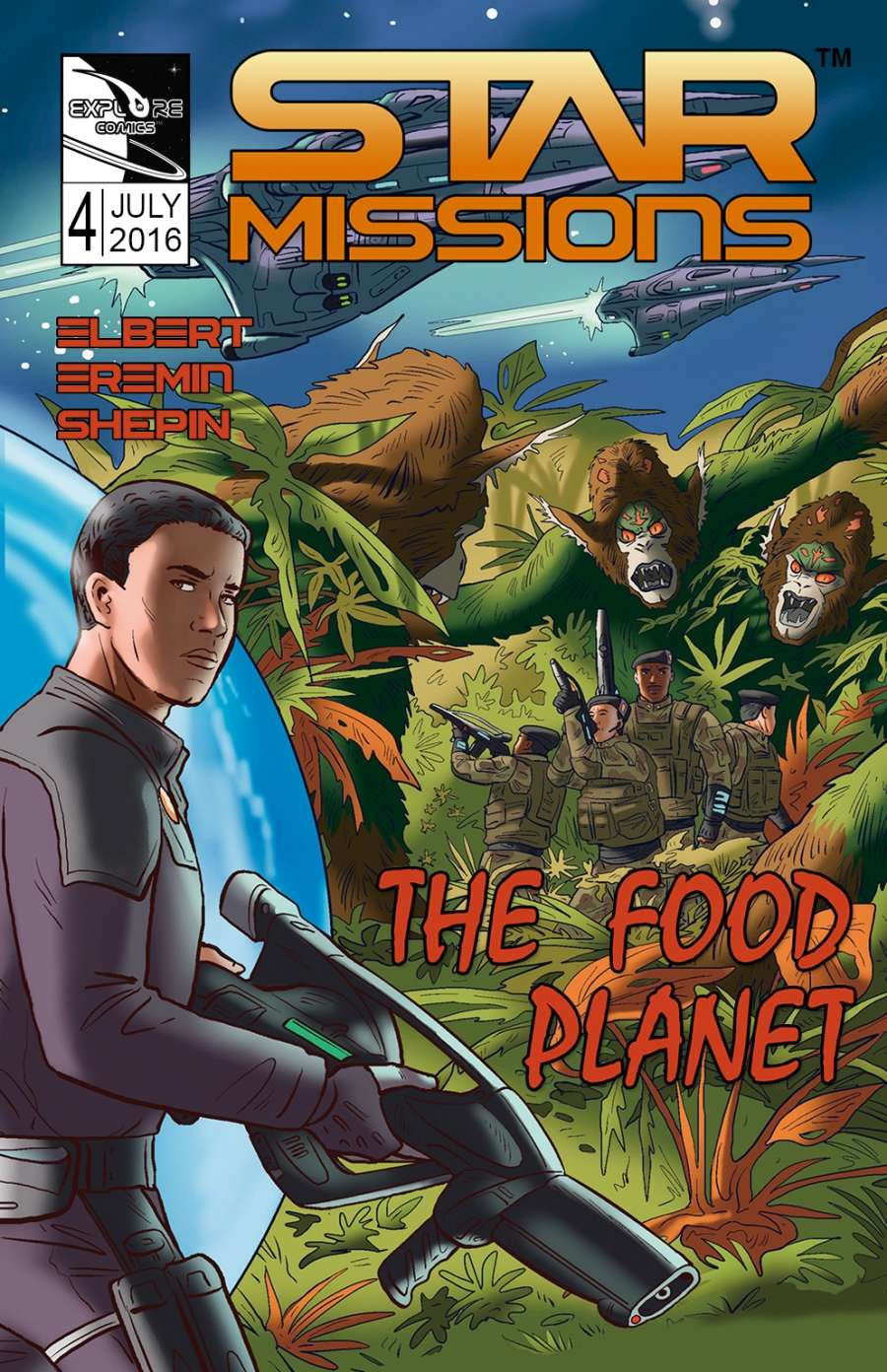 STAR MISSIONS - #4 The Food Planet (Variant Cover)
