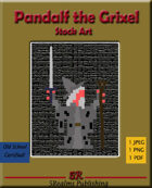 Pandalf the Grixel Stock Art