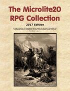 Microlite20 RPG Collection (2017 Edition)