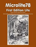 Microlite78 First Edition Lite (Second Edition NO ART)