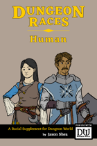 Dungeon Races - Human
