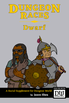 Dungeon Races - Dwarf