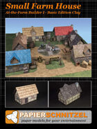 Small Farm House At-The-Farm I BASIC EDITION CLAY