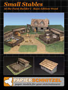 Small Stables At-The-Farm II BASIC EDITION STONE A