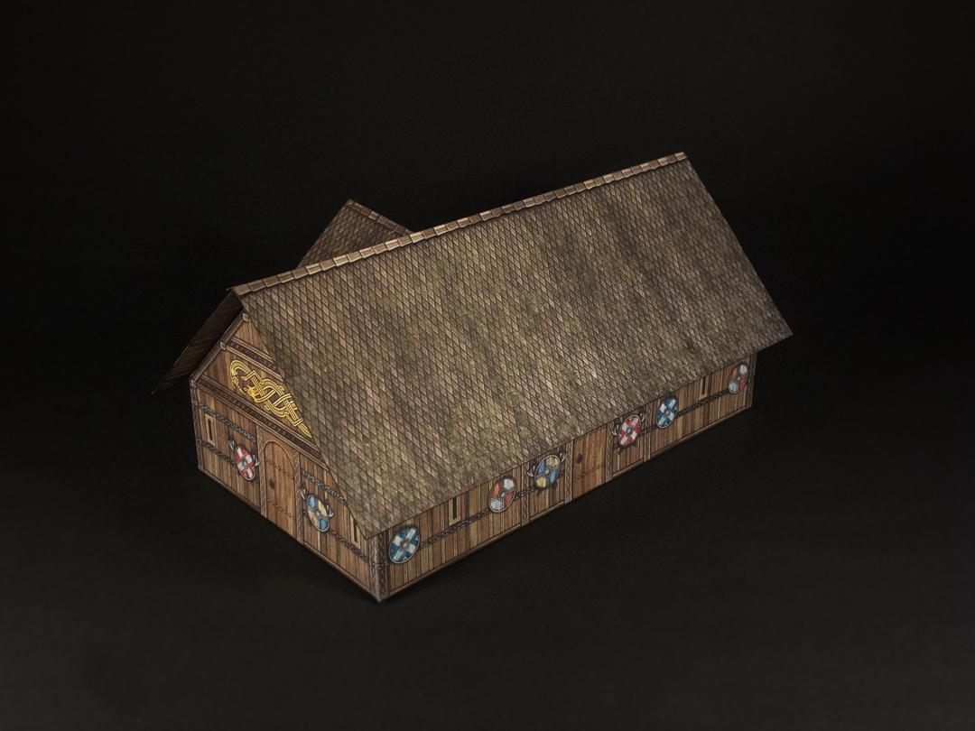 viking wood roof option