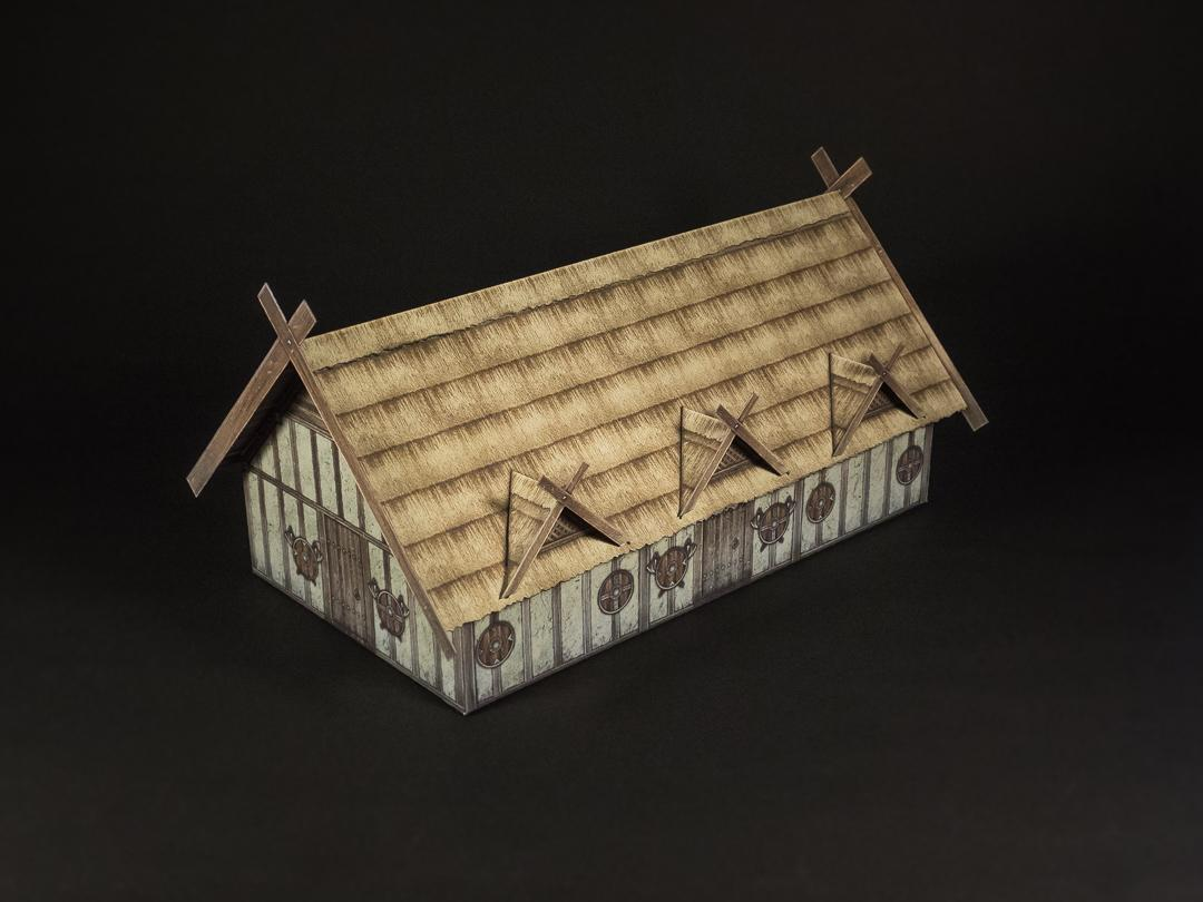 SAxon thatch roof option