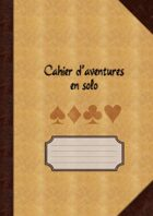 Cahier d'aventures en solo (pages à points)