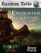 Encounter Generator - Wilderness (Fantasy)