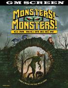 Monsters! Monsters! GM Screen