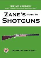 Zane's Guide to Shotguns