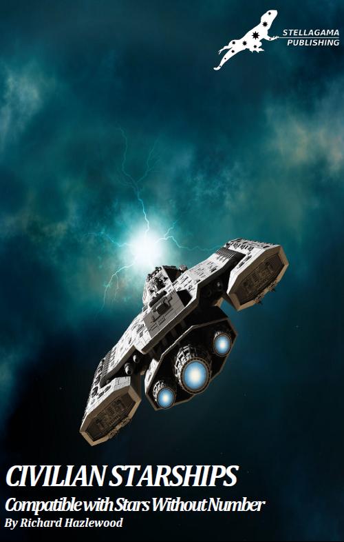 civilian starships stellagama publishing stars without number