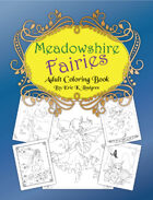 Meadowshire Fairies Adult Coloring Book