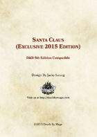 Santa Claus - 2015 Holiday Exclusive (5e)