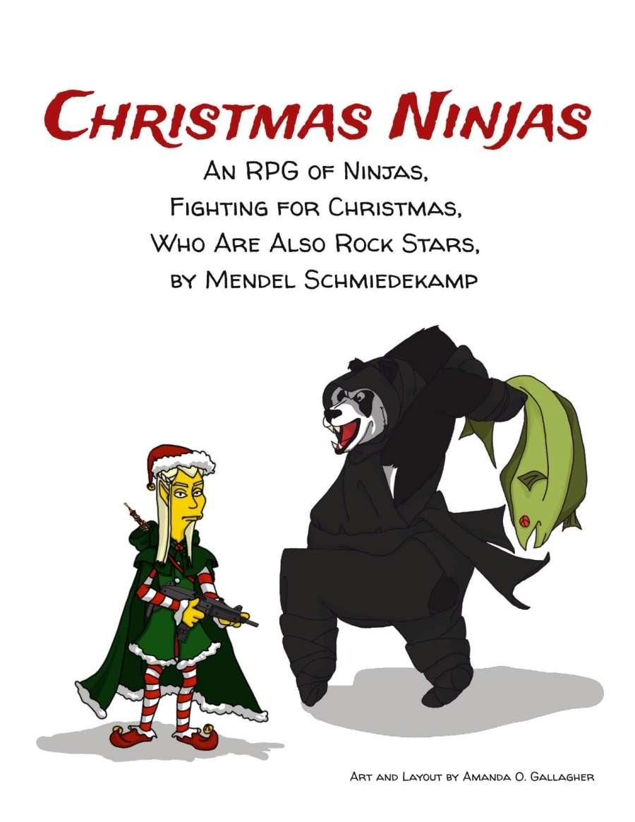 Christmas Ninjas - Silver Garden Games | DriveThruRPG.com