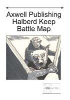 Raiders of the Night - Halberd Keep Battle Map