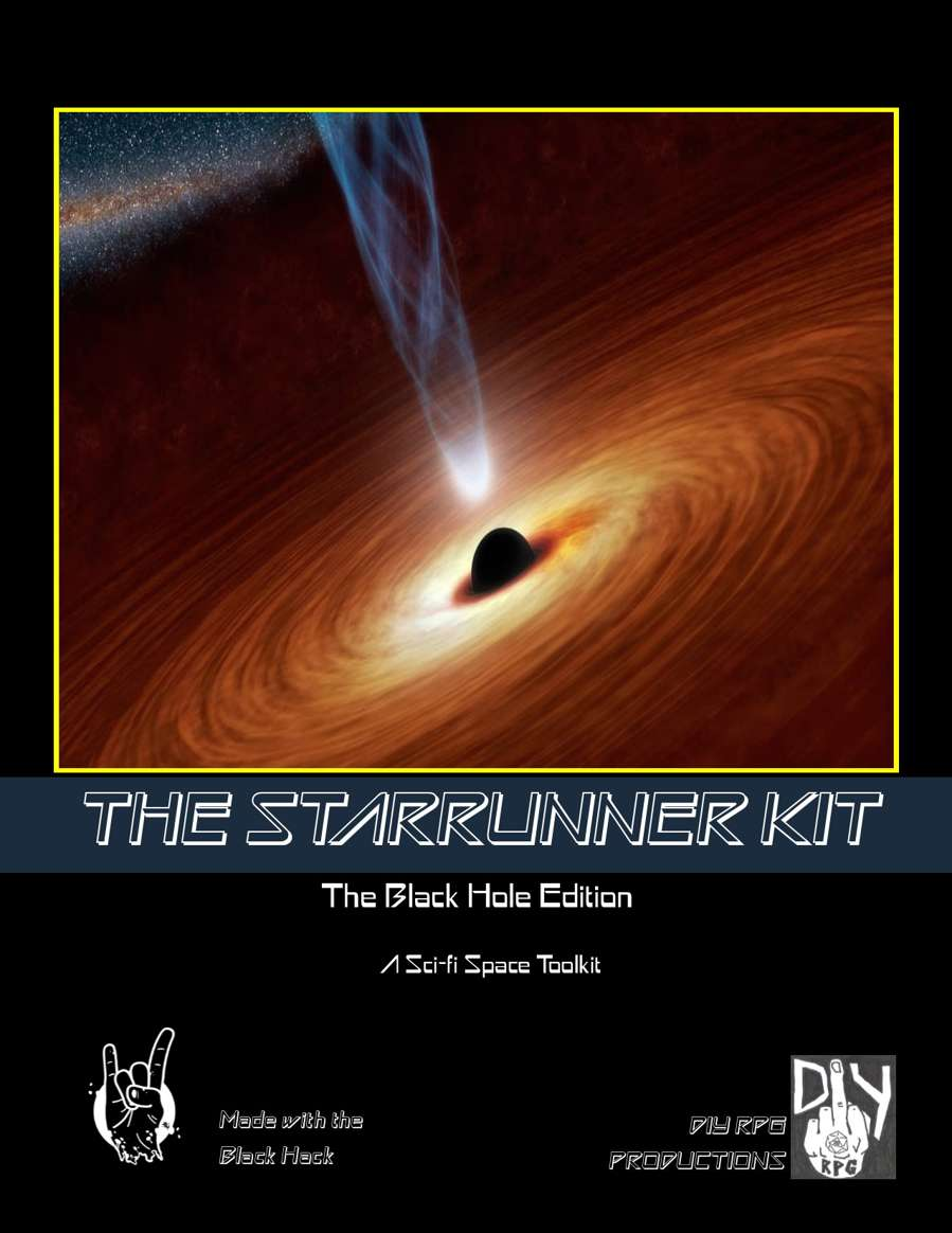 The Starrunner Kit- The Black Hole Edition: A Sci-Fi Space ...