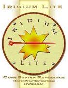 Iridium Lite Core System Reference