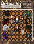 Darkwoulfe's Token Pack - Customizable Character Kit Pack 4