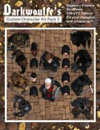 Darkwoulfe's Token Pack - Customizable Character Kit Pack 5