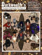 Darkwoulfe's Token Pack - Customizable Character Kit Pack 6