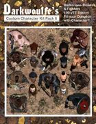 Darkwoulfe's Token Pack - Customizable Character Kit Pack 7