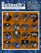 Darkwoulfe's Token Pack - Customizable Armor Kit Pack 1