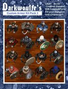 Darkwoulfe's Token Pack - Customizable Armor Kit Pack 3 - Men-at-Arms