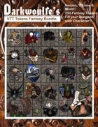 Darkwoulfe's Fantasy RPG Tokens - Set 1 [BUNDLE]