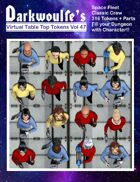 Darkwoulfe's Token Pack Vol47 - Space Fleet Classic - Crew Pack 2