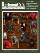 Darkwoulfe's Token Pack Vol55 - Tales of the Weird Wild West