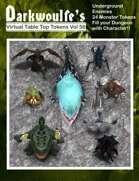 Darkwoulfe's Token Pack Vol56 - Underground Enemies