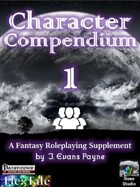 Character Compendium 1 (Pathfinder)