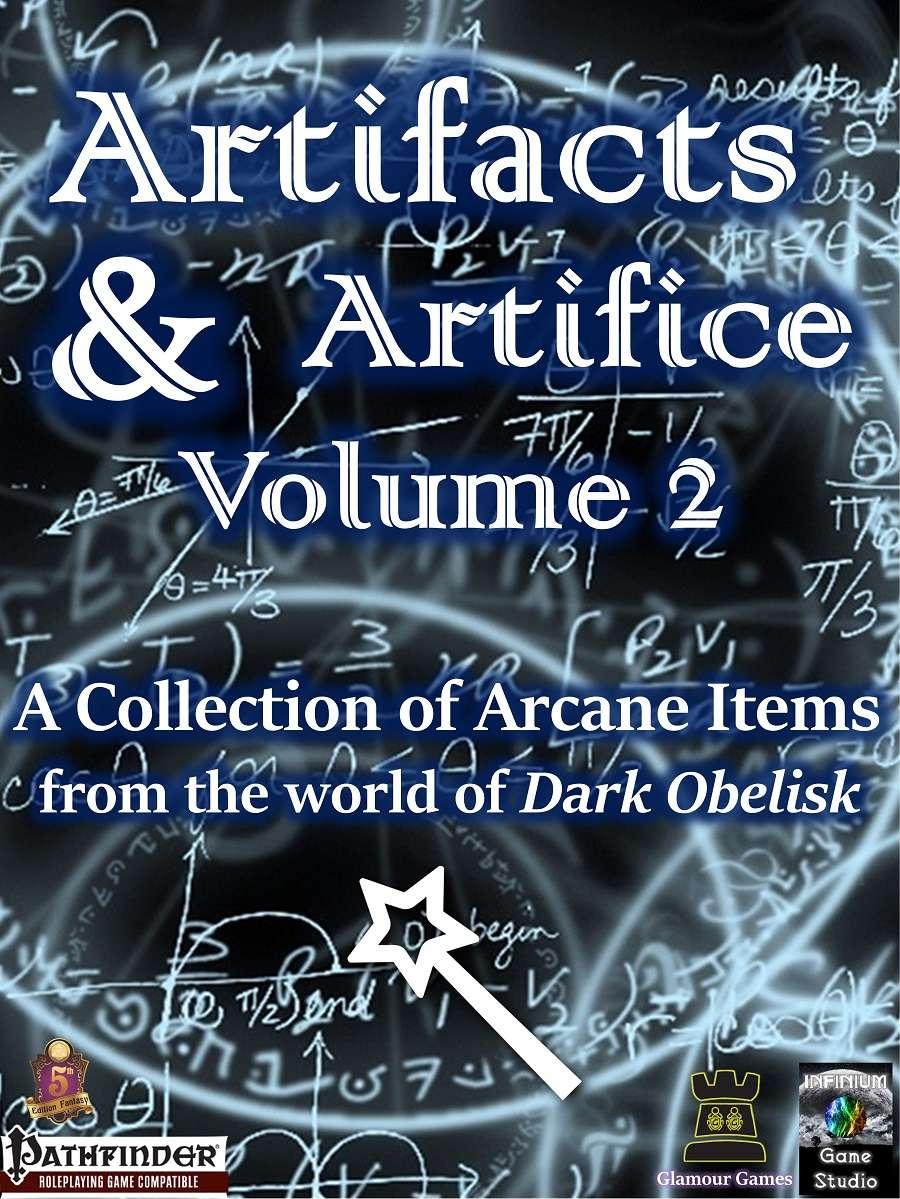Artifacts & Artifice, Volume 2 (Pathfinder) - Infinium Game