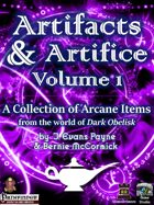 Artifacts  and  Artifice, Volume 1 (5E)