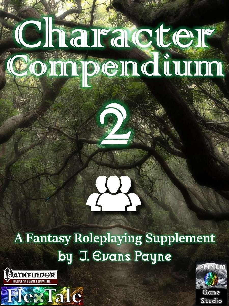 Character Compendium 2 (Pathfinder) - Infinium Game Studios