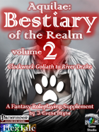 Aquilae: Bestiary of the Realm: Volume 2 (Pathfinder)
