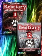 Aquilae: Abridged Bestiary Bookshelf for Pathfinder [BUNDLE]