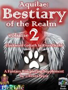 Aquilae: Bestiary of the Realm: Volume 2 (Fifth Edition / 5E)