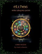 Elthos RPG Core Rules Book