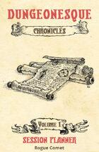 The Chronicles RPG Kit: Session Planner