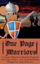 One Page Warriors: Kingdom Animalia