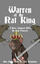 Warren of the Rat King: A Micro Chapbook RPG
