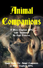 Animal Companions: A Micro Chapbook RPG Supplement