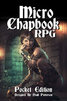 Micro Chapbook RPG Pocket Edition Rulebook