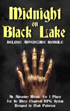 Midnight on Black Lake: Deluxe Adventure Module