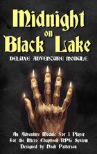 Midnight on Black Lake: Deluxe Adventure Module