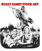 Zombie Stock Art - Zombie Graveyard - Clip art